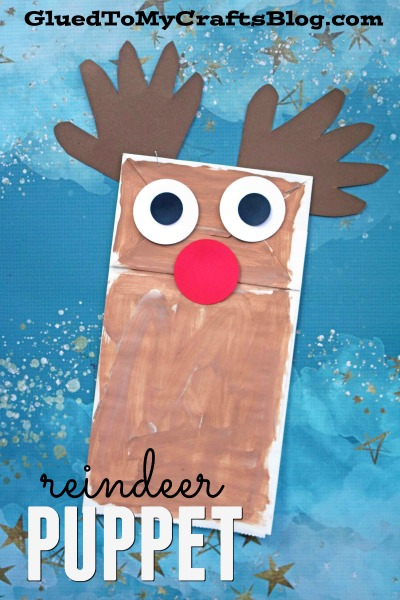 Paper Bag Reindeer {Kid Craft}