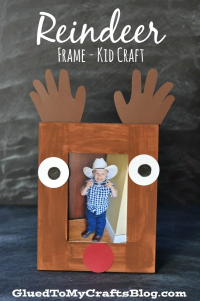 Reindeer Frame - Kid Craft