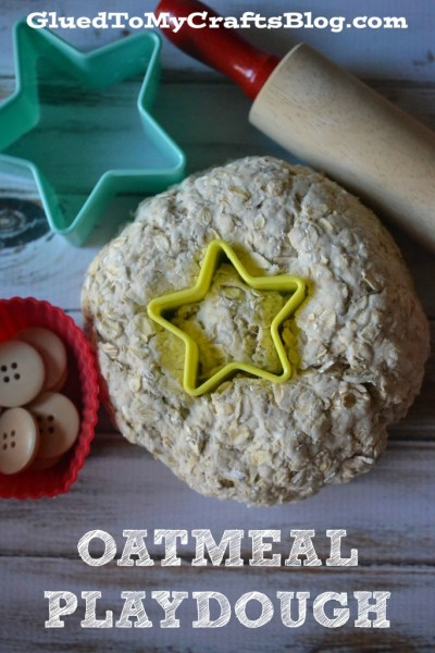 Homemade Oatmeal Playdough Recipe