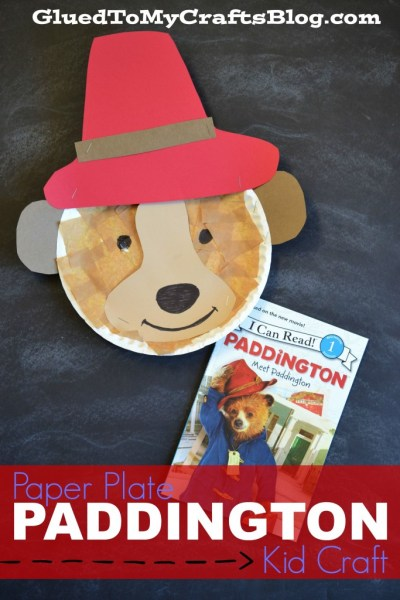 Paper Plate Paddington {Kid Craft}