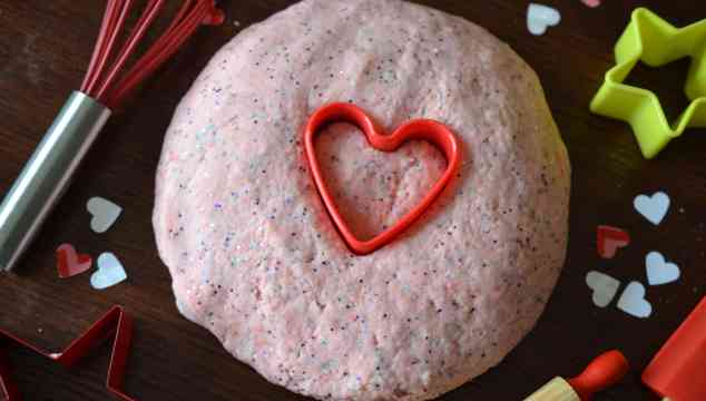 Strawberry Shortcake Valentine Playdough