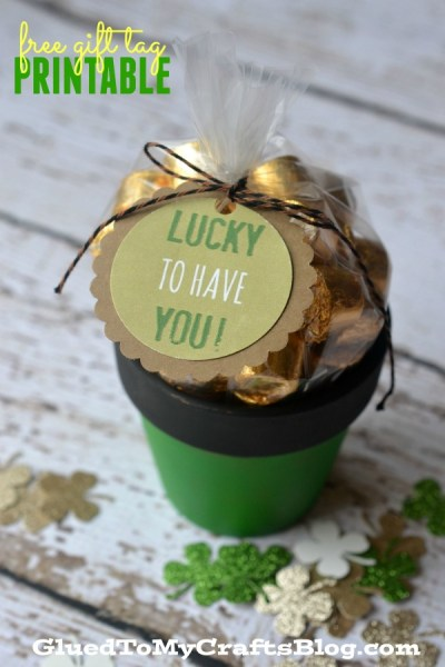Lucky To Have You Gift Tag Printable