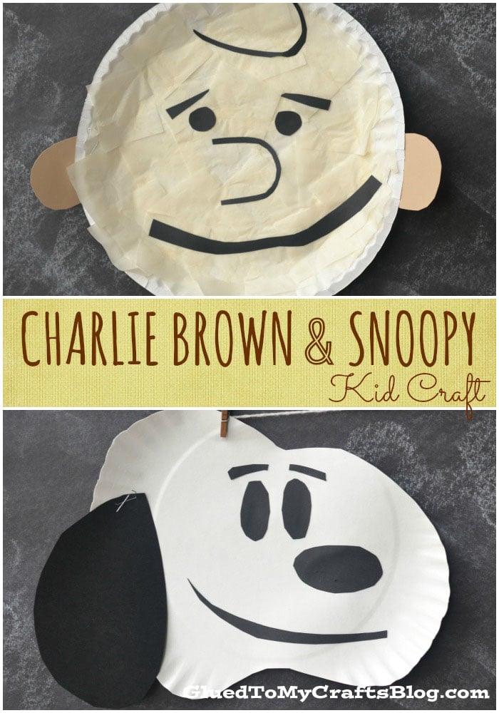 Charlie Brown Amp Snoopy Kid Craft
