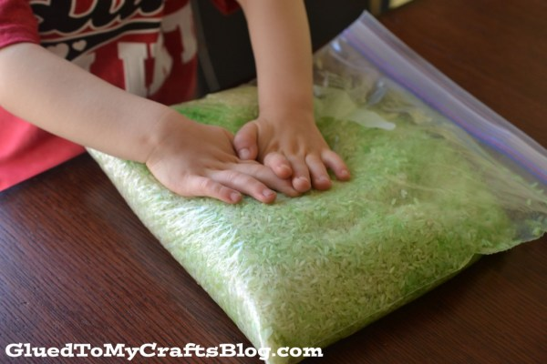 St. Patty's Day Sensory Bin Idea