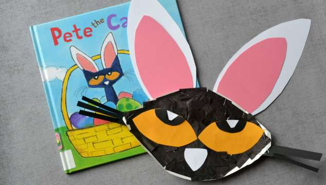 Pete The Cat – Easter Bunny {Kid Craft}