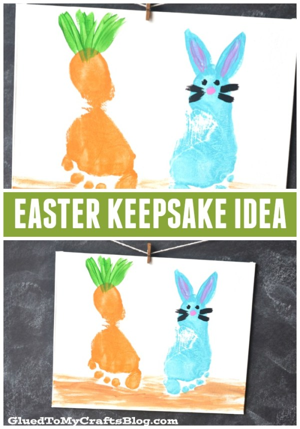 Footprint Easter Keepsake Idea