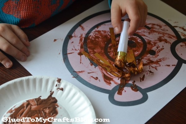 Mud On Piggy - Kid Craft Idea + Free Printable