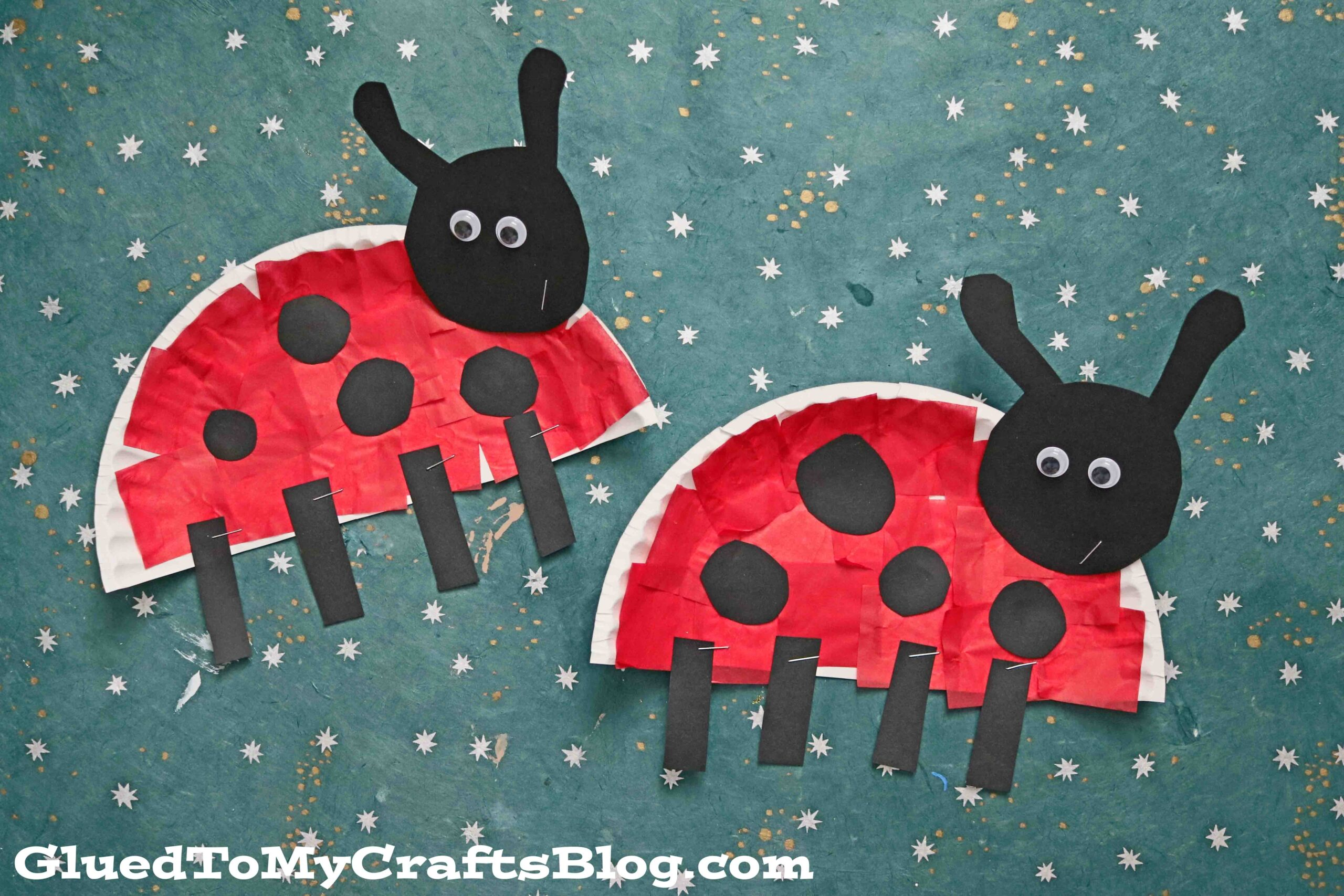 Ladybug, ladybug fly away home crafts, coloring and more! Paper Plate Ladybug Kid Craft Idea For Spring