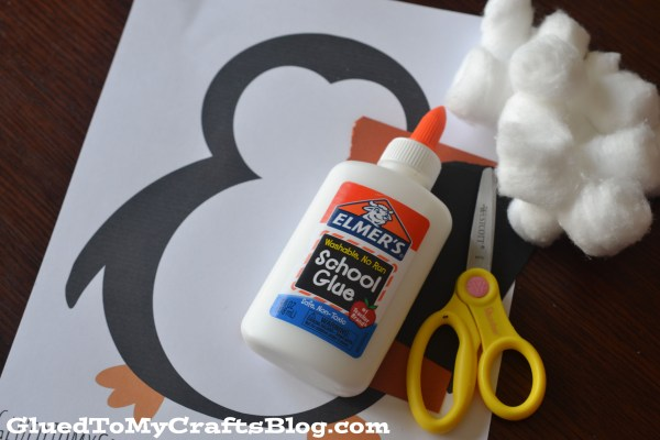 Cotton Ball Penguin {Kid Craft}