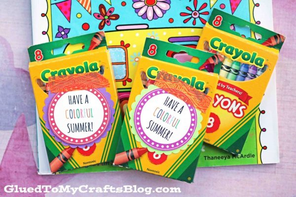 Colorful Summer Gift Idea w/free printable