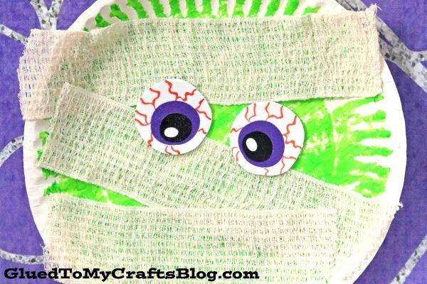 Paper Plate Mummy - Kid Craft