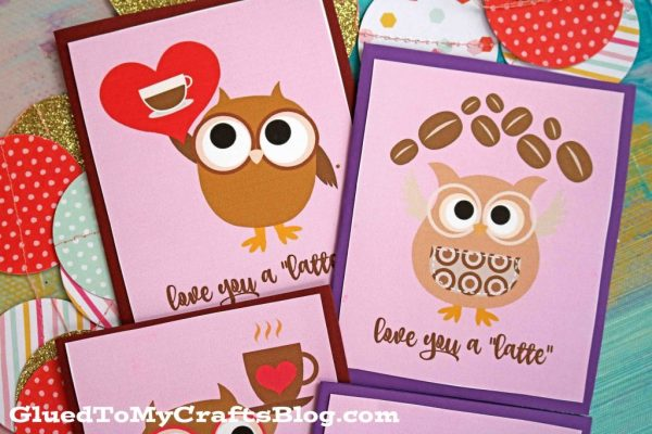 Love You A Latte - Free Card Printable