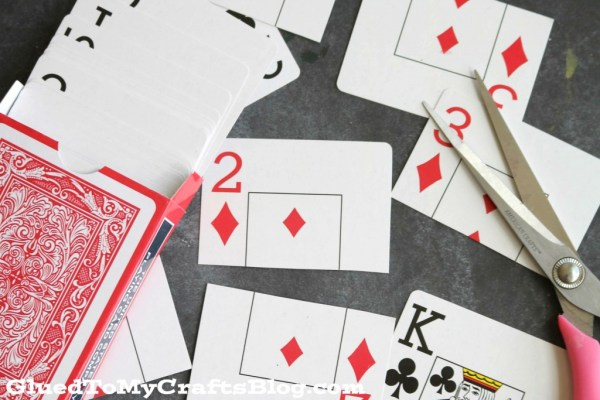 Deck of Cards Match Game - Busy Bag Idea