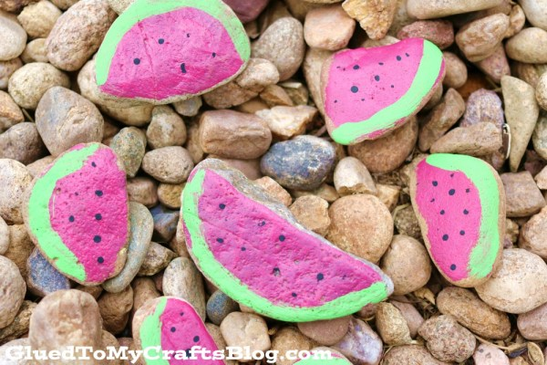 Watermelon Rocks - Kid Craft