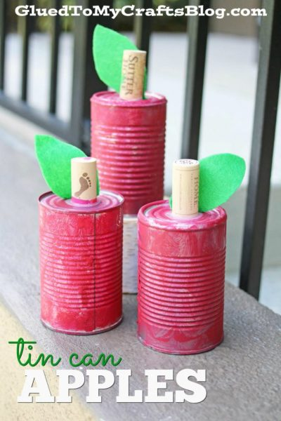 Tin Can Apples - Kid Craft