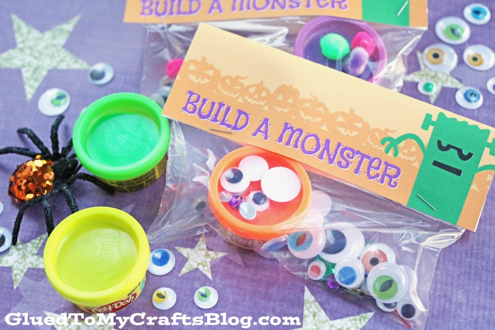 photo regarding Build a Monster Printable named Produce A Monster - No cost Printable