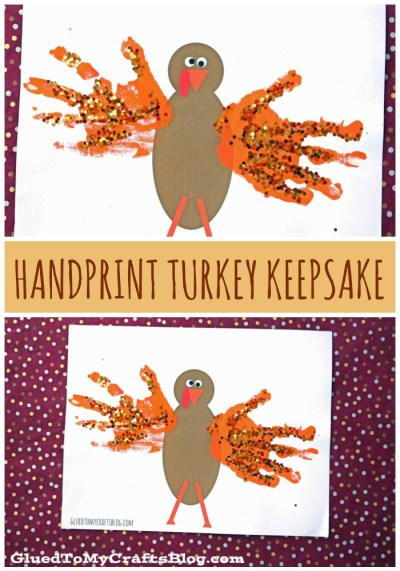 Handprint Turkey - Free Printable