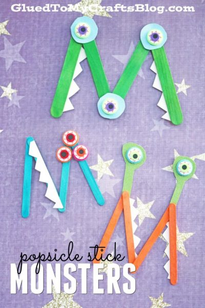 M is for Monster - Kid Craft
