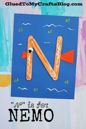 """N"" is for Nemo - Kid Craft"