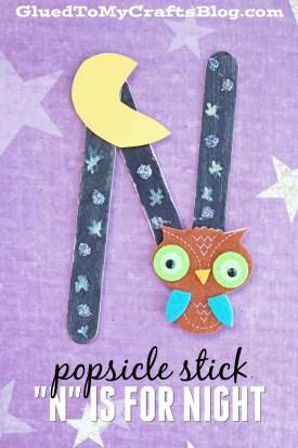 Popsicle Stick Night - Kid Craft