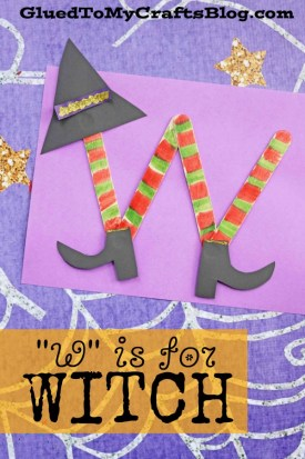 """W"" is for Witch - Kid Craft"