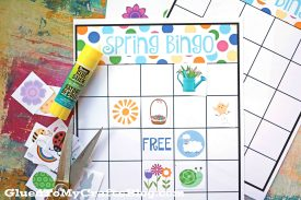 DIY Spring Bingo Game Printable