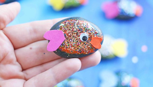 Pet Fish Rocks - Kid Craft