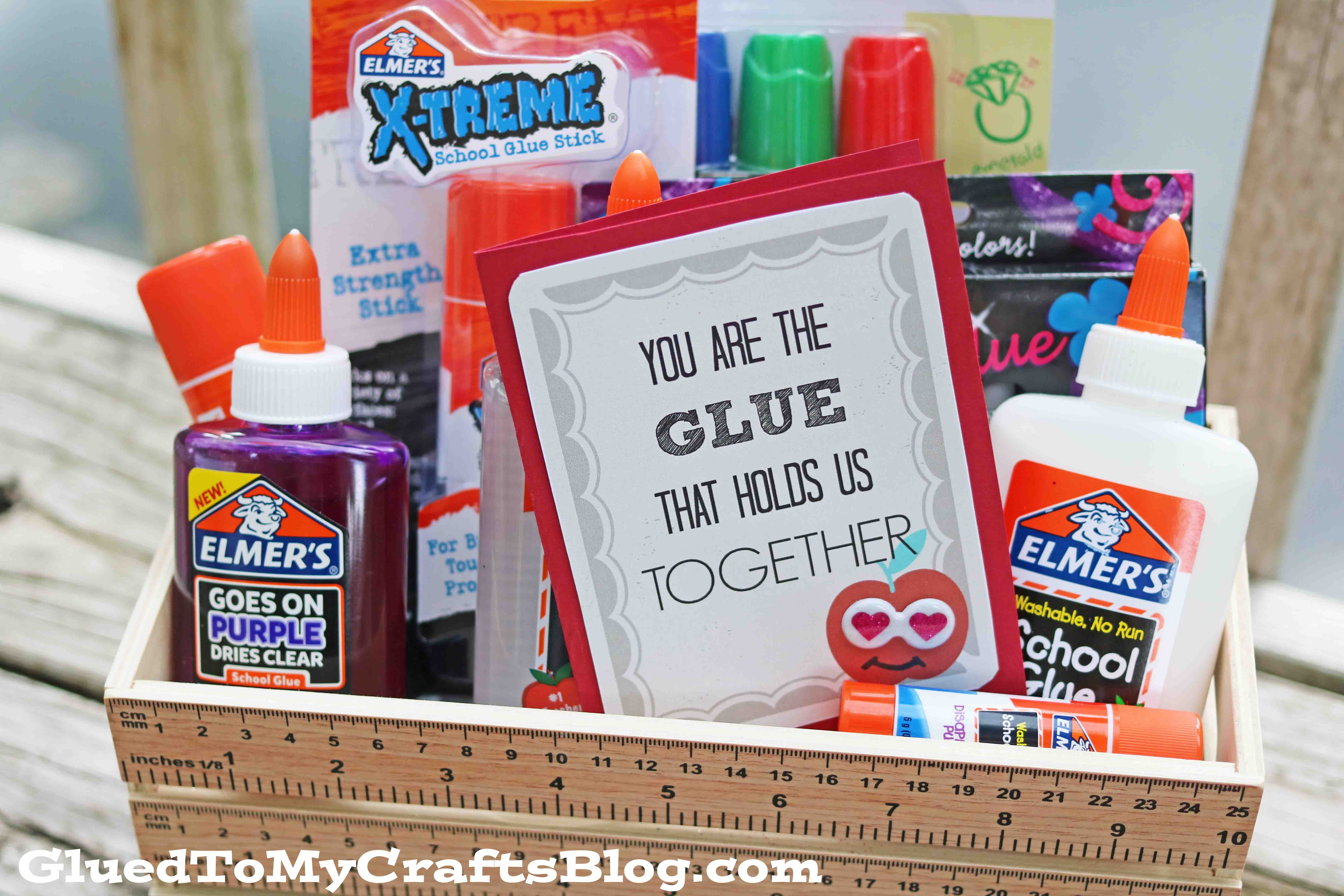 The Glue That Holds Us Together  Gift Tag Printable