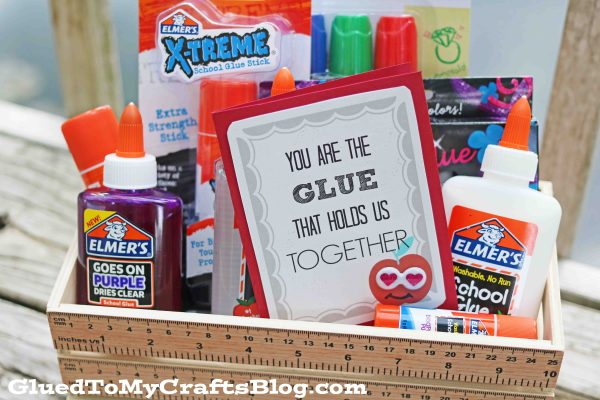 The Glue That Holds Us Together - Gift Tag Printable