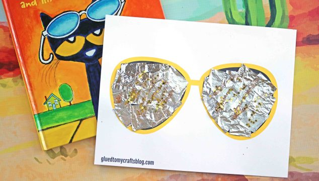 Pete The Cat Sunglasses Kid Craft – Free Printable