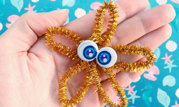 Pipe Cleaner Starfish – Kid Craft