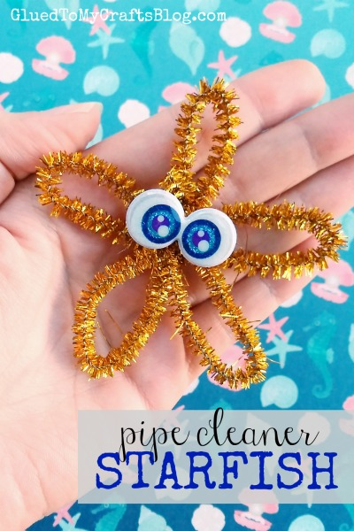 Pipe Cleaner Starfish Kid Craft Glued To My Crafts