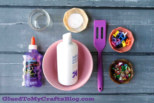 Sparkly Birthday Slime Recipe