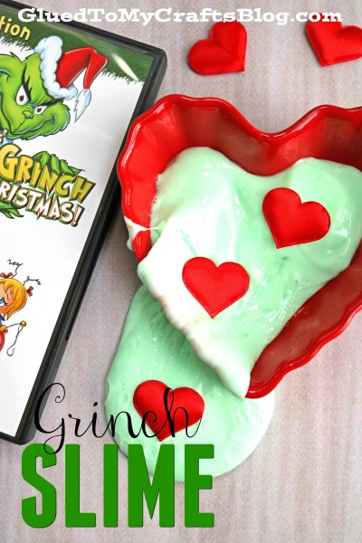 Grinch Inspired Slime Recipe