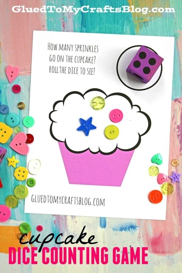 Cupcake Dice Game - Free Printable