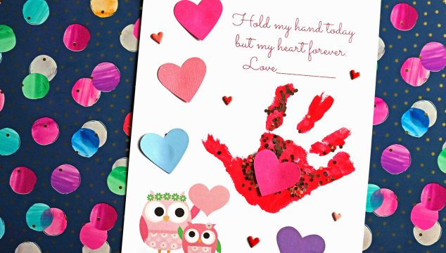 Keepsake Printable – Hold My Hand Today But My Heart Forever