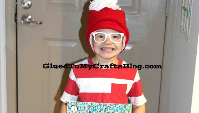 Simplest Where's Waldo Costume – Literacy Week