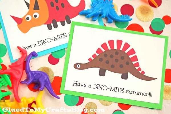 Have a Dino-Mite Summer - Free Printable