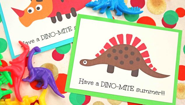 Have a Dino-Mite Summer – Free Printable