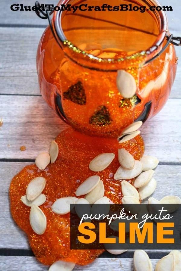 Pumpkin Guts Slime - Fall Kid Craft Idea