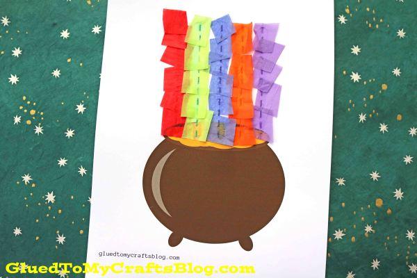 Rainbow Pot of Gold - Kid Craft