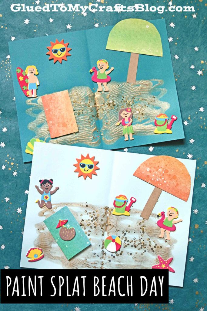 The editors of publications international, ltd. Paint Splat Beach Day Summer Kid Craft Tutorial