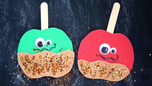Caramel Apple Friends – Kid Craft
