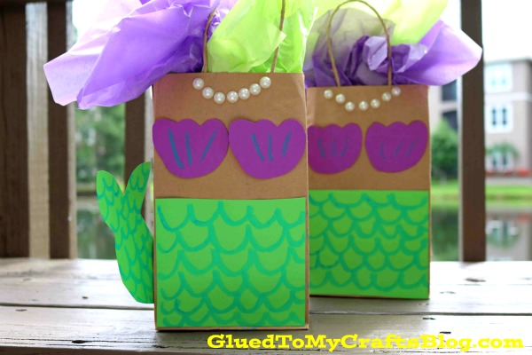 DIY Mermaid Gift Bags