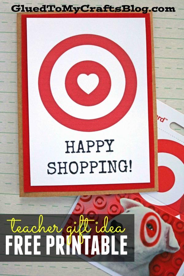 photo relating to Printable Target Gift Card titled Joyful Buying - Concentrate Reward Card Printable