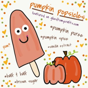 Pumpkin Pie Flavored Popsicles Recipe