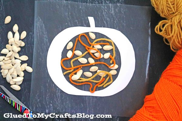 What's Inside My Pumpkin - Fall Kid Craft