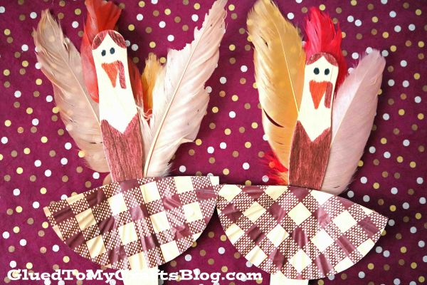 Craft Stick Turkey Ballerinas - Kid Craft