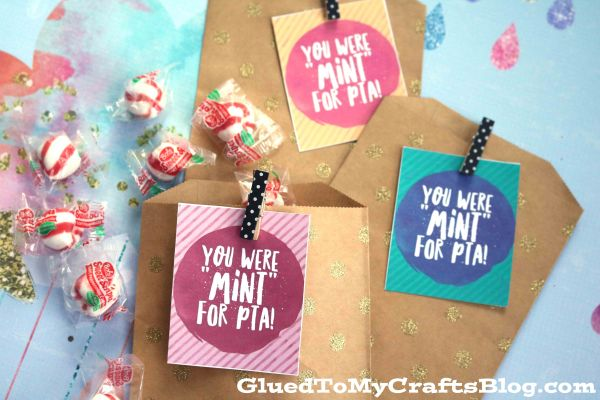 You Were Mint For PTA - Free Gift Tag Printable