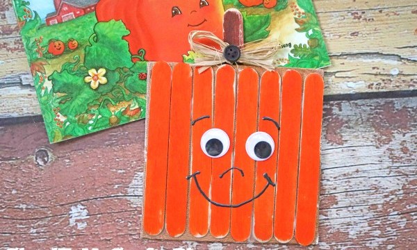 Spookley The Square Pumpkin Canvas – Kid Craft